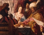 Le Banquet d'Esther - Jan LIEVENS